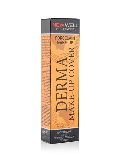 New Well New Welll Derma Cover 02 Tüp SPF 15 Suya Dayanıklı Fondöten Renksiz